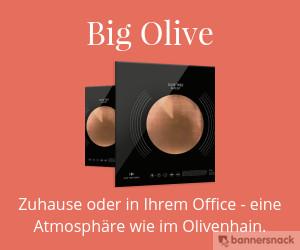 Olive Tree People - Zuhause oder in Ihrem Office - eine Atmosphäre wie im Olivenhain.
