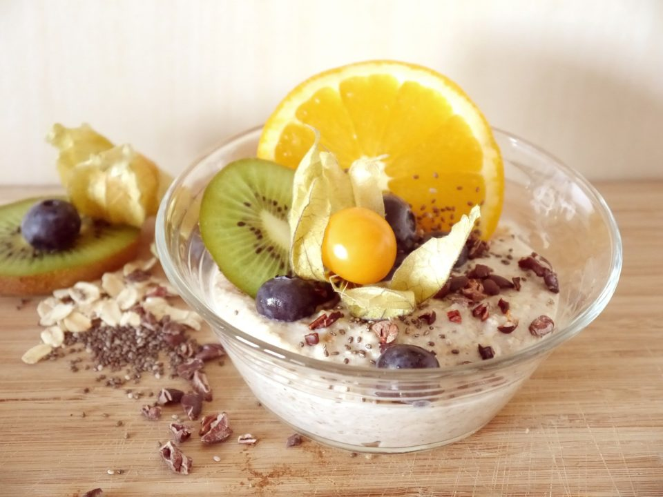 Frühstücksbrei-Porridge